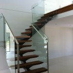 Glass balustrade constructions from Qld Stairs