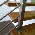 Stainless Steel post and stairs in Qld