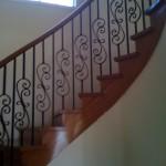 Elegant curved staircase McKay