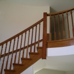 Elegant timber balustrade McKay