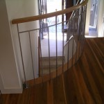 staircase balustrade with timber McKay
