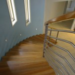 Quality spotted gum handrail Gold Coast