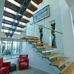 Steel staircase McKay